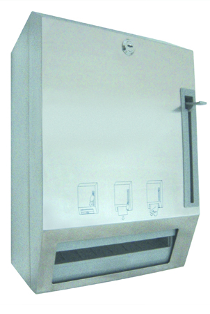 manual-stainless-steel-automatic-paper-towel-dispenser